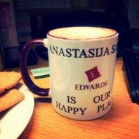Photo taken at Hotel Edvards Riga by Taya S. on 11/29/2014