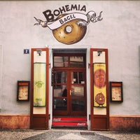 Photo taken at Bohemia Bagel by emathion on 3/30/2013
