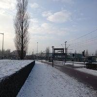 Photo taken at Voor de Bijen (gestapelde tafels) by Ad V. on 1/17/2013