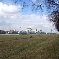 Photo taken at Poller Wiesen by Robert on 2/17/2013