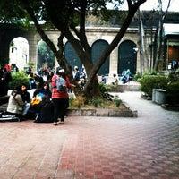 Photo taken at Universidad Alberto Hurtado by Claudio C. on 6/21/2013