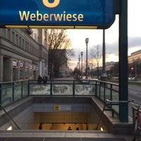 Photo taken at U Weberwiese by Lars W. on 3/19/2016