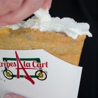Photo taken at Crepes a la Cart by Cart Inc. on 5/13/2014