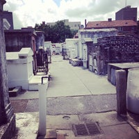 Photo taken at St. Louis Cemetery No. 1 by Luke H. on 4/30/2013
