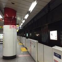 Photo taken at TX Asakusa Station by 李永福 on 6/26/2015