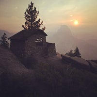 Photo taken at Glacier Point by Reyn H. on 7/30/2013