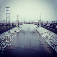 Photo taken at Sixth Street Bridge by Reyn H. on 11/30/2012