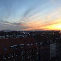 Photo taken at Düsseldorf by Sercan Y. on 11/30/2016