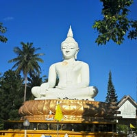 Photo taken at วัดแหลมสน by Arthur H. on 7/2/2014