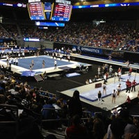 Photo taken at UCLA Pauley Pavilion by Mike R. on 4/21/2013