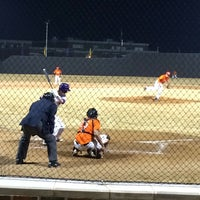 Photo taken at Richardson High School Baseball Field by Kirsten O. on 3/7/2014