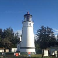 Photo taken at Umpqua Lighthouse State Park by Jennifer G. on 11/10/2012
