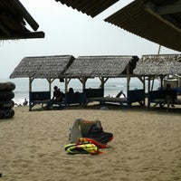Photo taken at Pantai Sambolo by Edwin S. on 5/18/2014