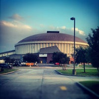 Photo taken at Cajundome & Convention Center by Nathan F. on 10/12/2012