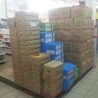 Photo taken at Pasaraya HERO (Hypermarket) by Muaz H. on 4/18/2014