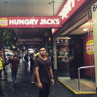 Photo taken at Hungry Jack's by Ayi3 A. on 2/6/2015
