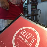 Photo taken at Bill's Luncheonette by Hubby M. on 8/29/2015