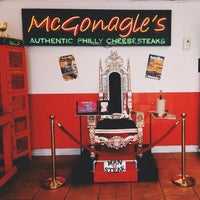 Photo taken at McGonagle's Philly Cheesesteaks by Ryan R. on 6/22/2014