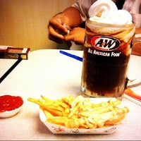 Photo taken at A&W by ABBY BY on 7/12/2014