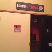 Photo taken at Gotham City Improv by Roberto T. on 1/12/2013