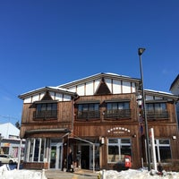 Photo taken at 軽井沢駅前郵便局 by Heidi S. on 2/8/2016