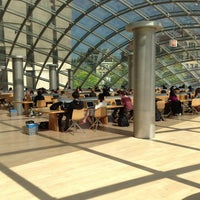 Photo taken at Joe and Rika Mansueto Library by Arman S. on 5/13/2013