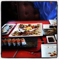 Photo taken at Octopus Japanese Restaurant Sushi by Angie M. on 5/2/2013