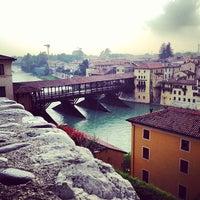 Photo taken at Ponte degli Alpini by Alberto B. on 5/3/2013