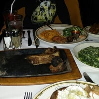 Photo taken at EB Green's Steakhouse by Mark K. on 12/21/2013