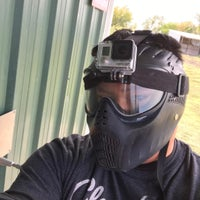 Photo taken at Official Paintball by Jeff K. on 10/9/2016