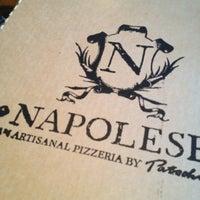 Photo taken at Napolese Artisanal Pizzeria- 49th and Pennsylvania by Stephanie B. on 4/2/2013