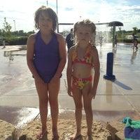 Photo taken at Splash Pad by Brandi D. on 7/28/2013