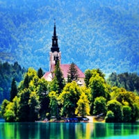 Photo taken at Bled by mirmat on 8/18/2013