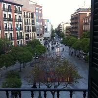 Photo taken at Plaza de Lavapiés by Lizama J. on 5/19/2013