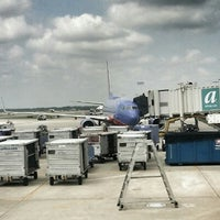 Photo taken at Gate C1 by Rob S. on 8/24/2014