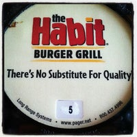 Photo taken at The Habit Burger Grill by Micheal G. on 2/18/2013