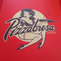Photo taken at Pizzabrosa by Oscar V. on 10/27/2013