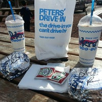 Photo taken at Peters' Drive-In by Sean M. on 5/4/2013