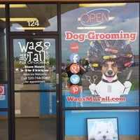 Photo taken at Wags my Tail Pet Grooming by Charles Y. on 5/11/2016
