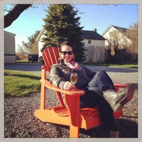 Photo taken at The Lenz Winery by Rachel H. on 4/21/2013