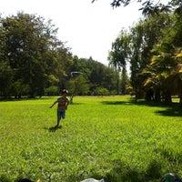 Photo taken at Parque Padre Hurtado by Simon P. on 2/16/2013