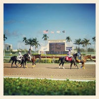 Photo taken at Gulfstream Park Racing and Casino by Rae M. on 1/6/2013