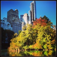 Photo taken at Central Park by Alex M. on 10/25/2013