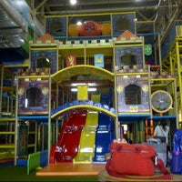 Photo taken at Lollipop's Playland & Cafe by Fenny R. on 6/14/2014