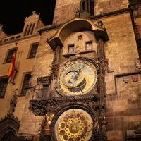 Photo taken at Prague Astronomical Clock by Whizkid S. on 10/25/2012