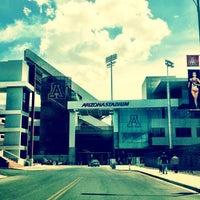 Photo taken at Arizona Stadium by Matthew T. on 7/22/2013