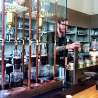 Photo taken at Blue Bottle Coffee by Lisa B. on 10/7/2012