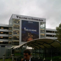 Photo taken at Edinburgh Airport (EDI) by Alberto S. on 9/25/2012