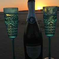 Photo taken at Camber Sands Beach by Jenny H. on 7/20/2016