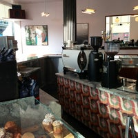 Photo taken at La Colombe Torrefaction by Mike S. on 12/31/2012